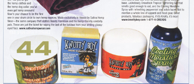 Knotty Boy review in Skunk Magazine