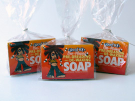 Bee washed soap