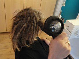 Drying Dreadlocks