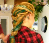 How to Make Dreadlock Up-Dos styles