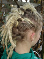 Dreadlock Styles: Lock Hawk