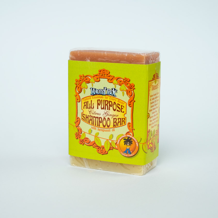 all purpose shampoo bar citrus ginger
