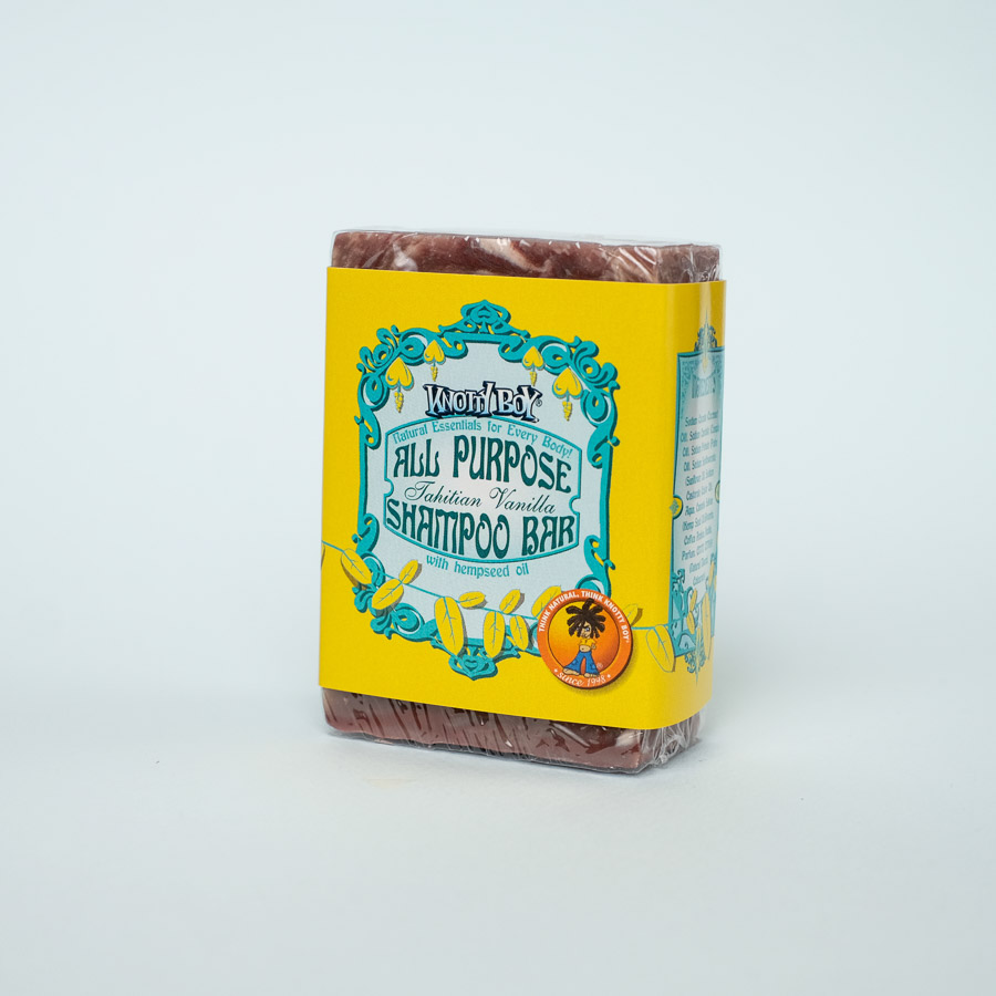 all purpose shampoo bar tahitian vanilla