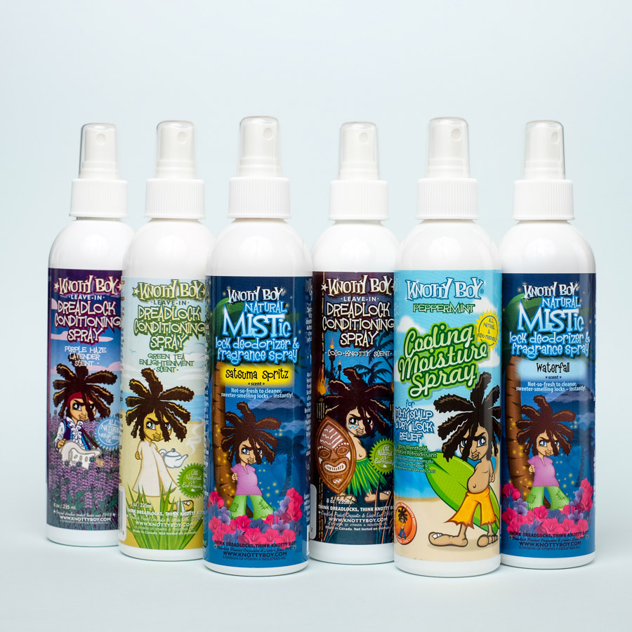 dreadlock spray 8 ounces 6 pack