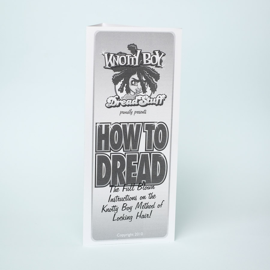 how to make dreadlocks instructional brochure