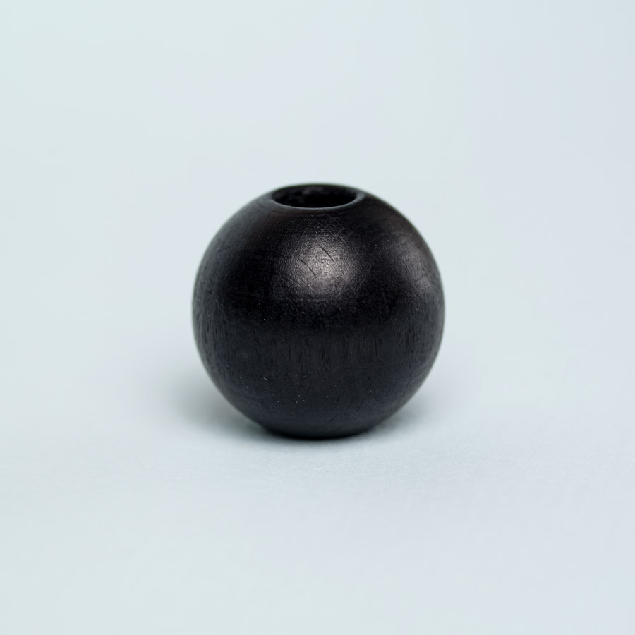 black wooden bead for dreadlock decoration