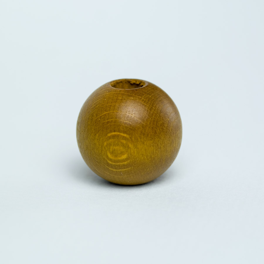 olive wooden bead for dreadlock decoration