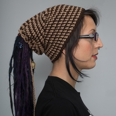 Knot-Top Tube Hat