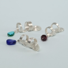 Handmade Sterling Silver Coils