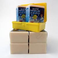 Dread Shampoo Bar 6-pack plus Soap Box