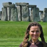 A Dreaded Druid At Stonehenge