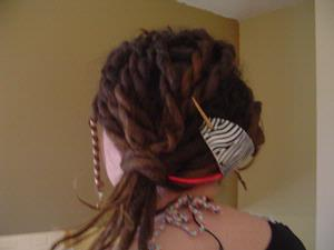 dread style for prom - dreadlocks pictures   Knotty Boy