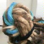Dreadlock beehive