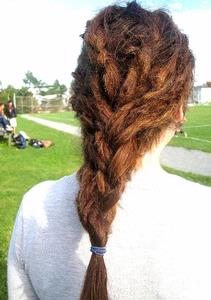 French Braided Dreads! - dreadlocks pictures | Knotty Boy