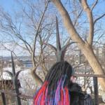 Dreads on holiday in Ottawa